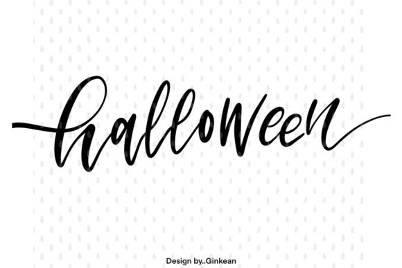 Print on Demand: Halloween Graphic Graphic Templates By Ginkean