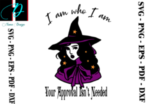 Print on Demand: Halloween Witch Design Graphic Print Templates By Hana Design