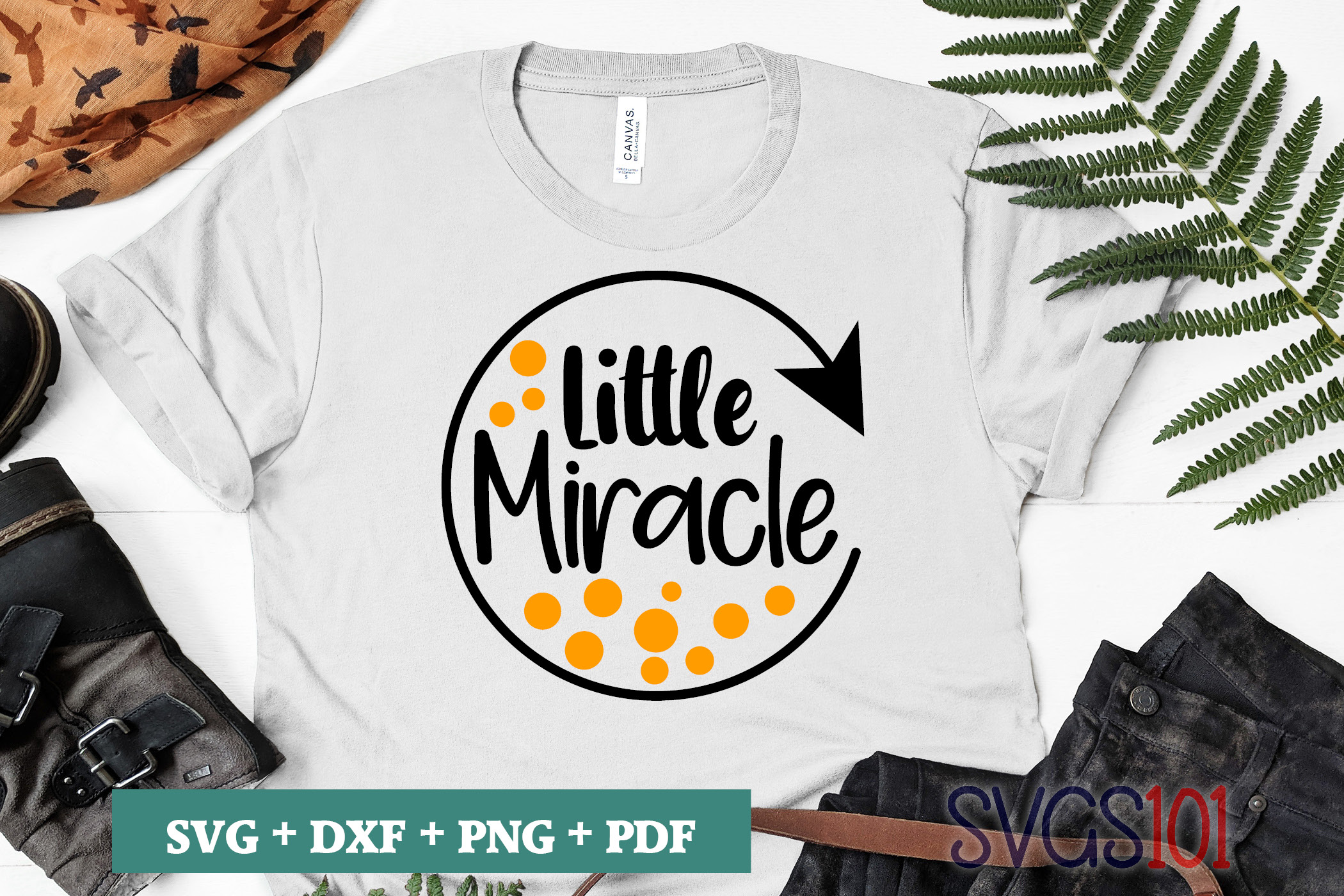 Little Miracle Svg Cut File Graphic By Svgs101 Creative Fabrica