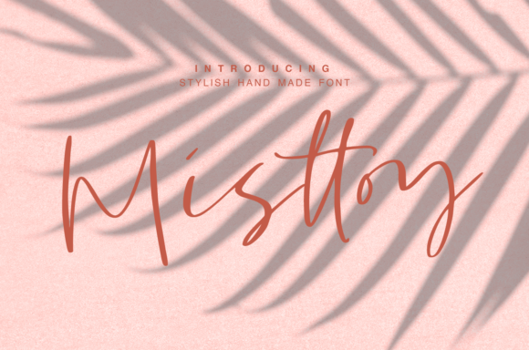 Print on Demand: Misttoy Script & Handwritten Font By it_was_a_good_day