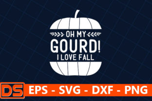 Print on Demand: Oh My Gourd! I Love Fall Graphic Print Templates By Design Store