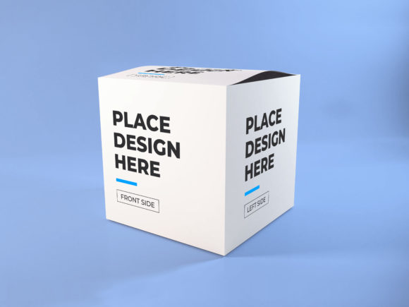 Print on Demand: Realistic Box Packaging Mockup Photoshop Graphic Product Mockups By dendysign