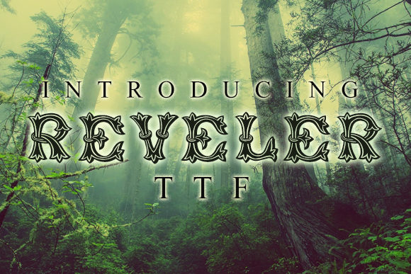 Print on Demand: Reveler Decorative Font By vladimirnikolic