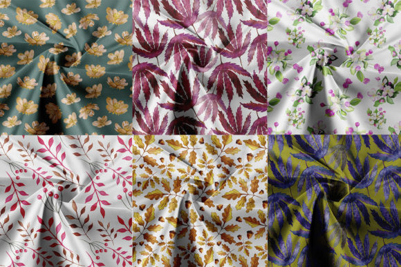 Seamless Patterns Collection. 40 Pattern Graphic Preview
