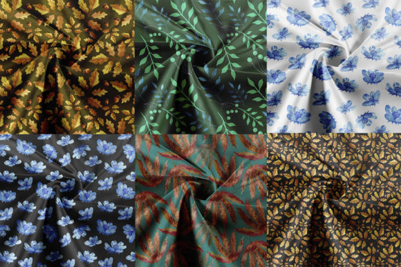 Seamless Patterns Collection. 40 Pattern Graphic Image