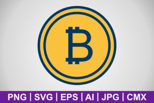 Print on Demand: Vector Bitcoin Icon Graphic Icons By IYIKON