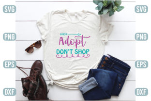 Adopt Don T Shop Graphic Crafts By craftstore