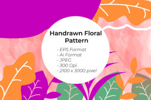 Romantic Floral Pattern Graphic Patterns By handles creative