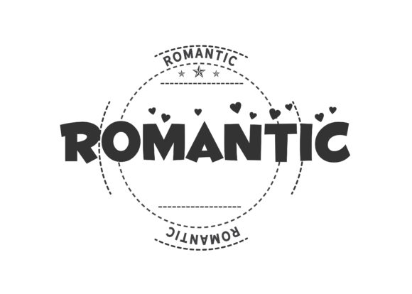 Romantic Illustration Graphic