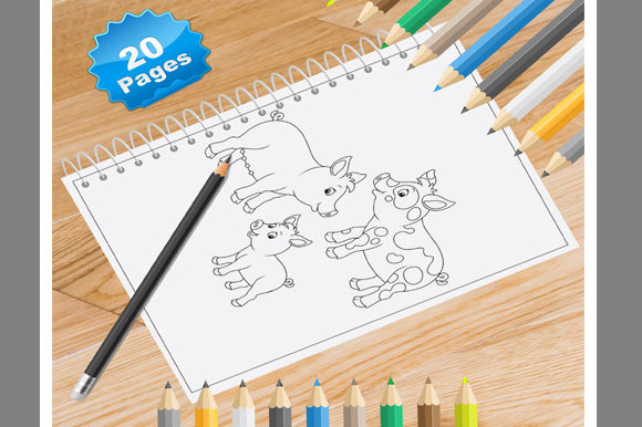 20 Pig Coloring Pages for Kids Graphic Coloring Pages & Books Kids By Coloring World