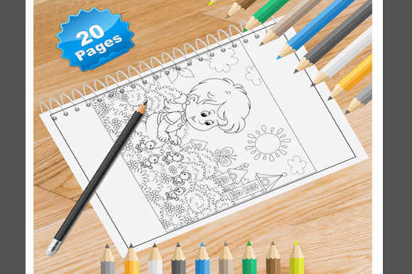 20 Sun Coloring Pages Graphic Coloring Pages & Books By Coloring World