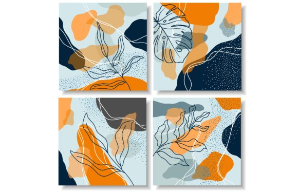 Abstract Artistic Templates. Graphic Backgrounds By etinurhayati0586