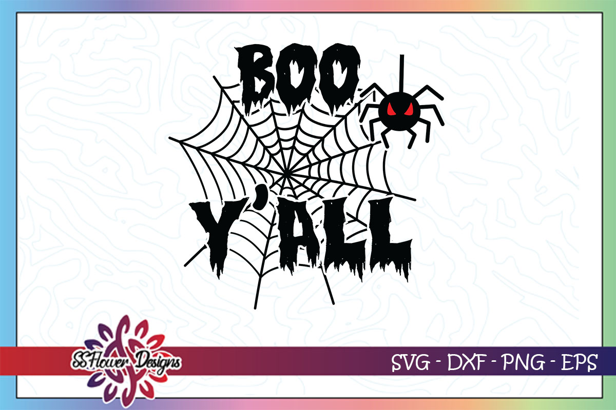 Boo Y All Graphic By Ssflower Creative Fabrica