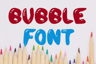 Print on Demand: Bubble Display Font By Vladimir Carrer