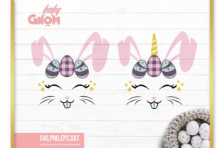 Bunny Unicorn, Easter Bunny  Graphic Crafts By babyGnom