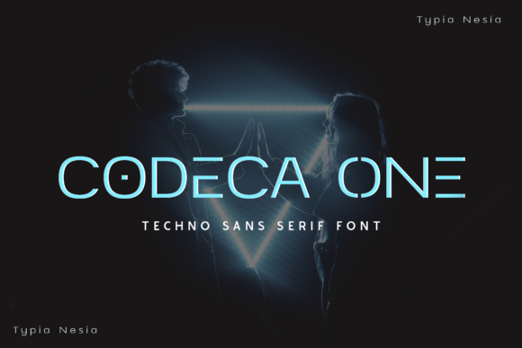 Print on Demand: Codeca One Display Font By Typia Nesia