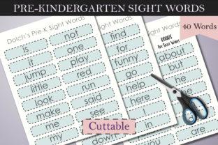 Print on Demand: Dolch Sight Words Tracing: Pre-K Graphic Teaching Materials By Digital to Art 4