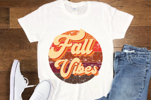 Print on Demand: Fall Vibes Sublimation Design Graphic Crafts By FauzIDEAStudio