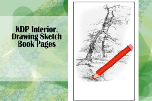 Print on Demand: KDP Interior, Drawing Sketch Book Pages Graphic KDP Interiors By Designs_by_Shorty