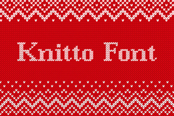 Print on Demand: Knitto Decorative Font By OWPictures