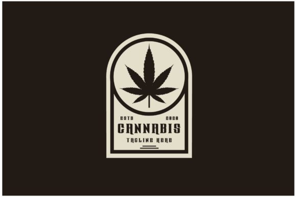 Marijuana, Cannabis Product Label Logo Graphic Logos By sore88