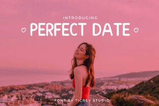Print on Demand: Perfect Date Sans Serif Font By OKEVECTOR