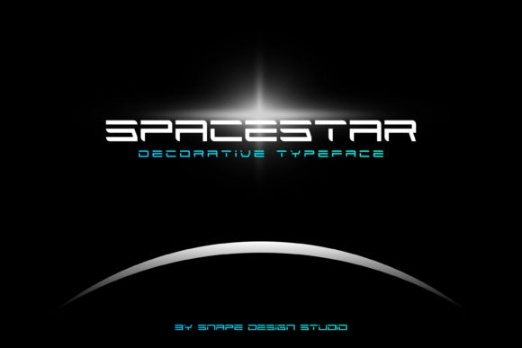 Print on Demand: Spacestar Display Font By snapedsgn
