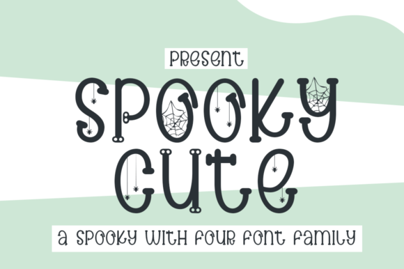 Print on Demand: Spooky Cute Script & Handwritten Font By edwar.sp111