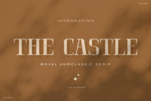 Print on Demand: The Castle Serif Font By Typia Nesia