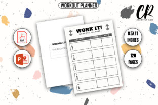 Workout Schedule Planner - KDP Planner Graphic KDP Interiors By Creative Ram