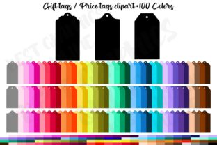 300 Gift Tags Clipart, Price Tags Lugage Graphic Illustrations By bestgraphicsonline