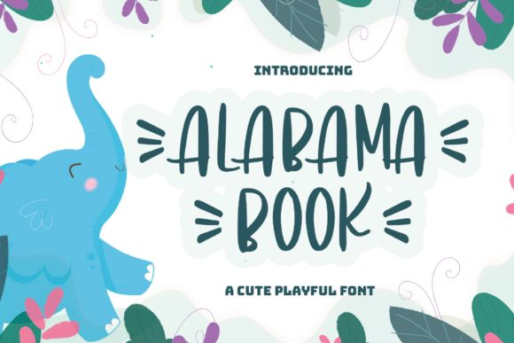 Print on Demand: Alabama Book Display Font By Graphue
