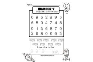 All About Numbers 1-15 Graphic PreK By lifeandhomeschooling 3
