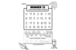 All About Numbers 1-15 Graphic PreK By lifeandhomeschooling 4