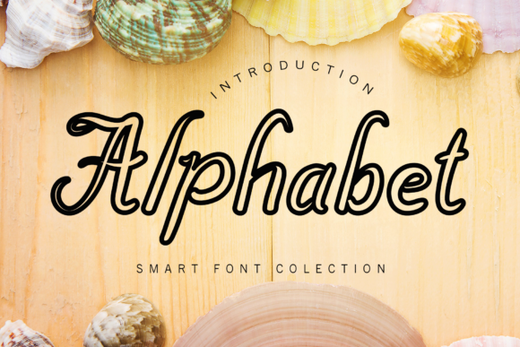 Print on Demand: Alphabet Script & Handwritten Font By giatstudios