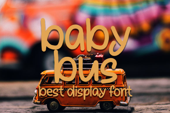 Print on Demand: Baby Bus Script & Handwritten Font By FL Space