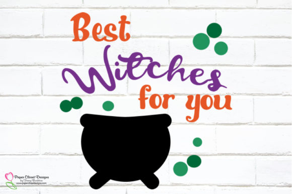 Print on Demand: Best Witches for You Graphic Illustrations By rushton_tracy