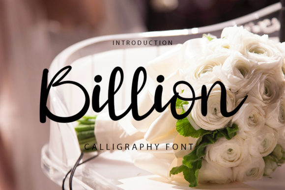 Print on Demand: Billion Script & Handwritten Font By FL Space