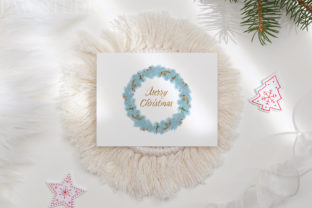 Print on Demand: Christmas Gift Boxes Deer Flowers Clipar Graphic Illustrations By PawStudio 9