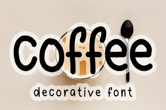 Print on Demand: Coffee Script & Handwritten Font By FL Space