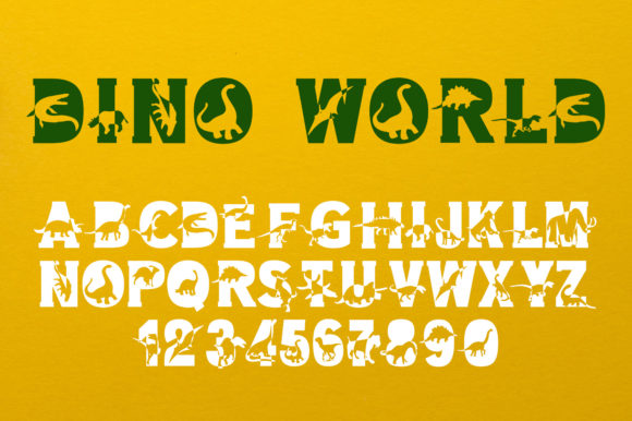 Dino World Font Download