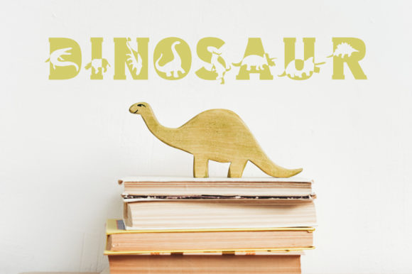 Dino World Font Preview