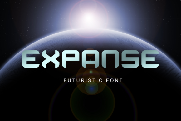 Print on Demand: Expanse Display Font By Rusd studio