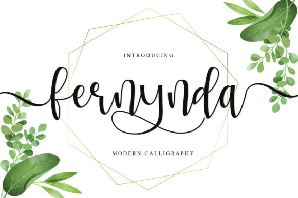 Print on Demand: Fernynda Script & Handwritten Font By fiqiart09