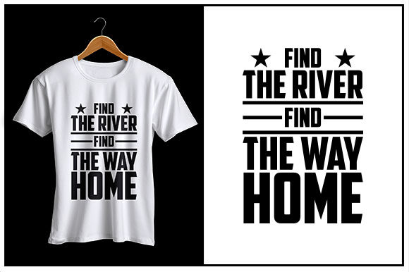 Print on Demand: Find the River Find the Way Home Graphic Crafts By Zaibbb