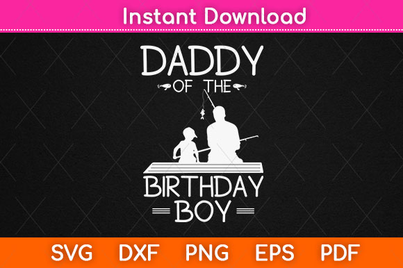 Download Fishing Theme Matching Daddy In Son Svg Graphic By Graphic School Creative Fabrica