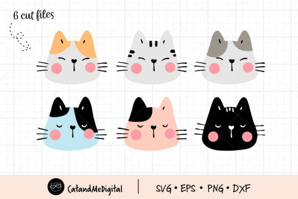 Funny Cats Graphic Illustrations By CatAndMe