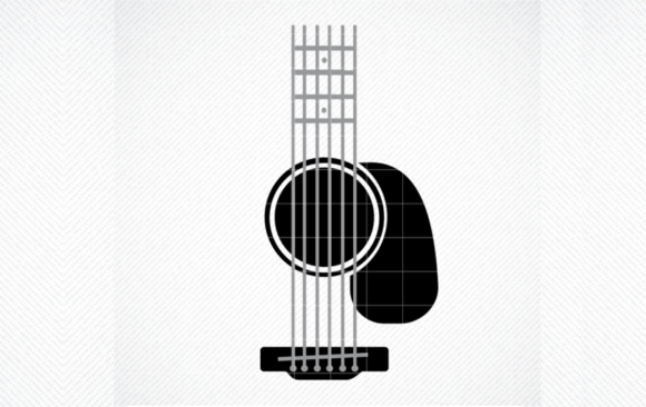 Print on Demand: Guitar Tumbler SVG, Guitar SVG, Tublers Graphic Crafts By SVG DEN