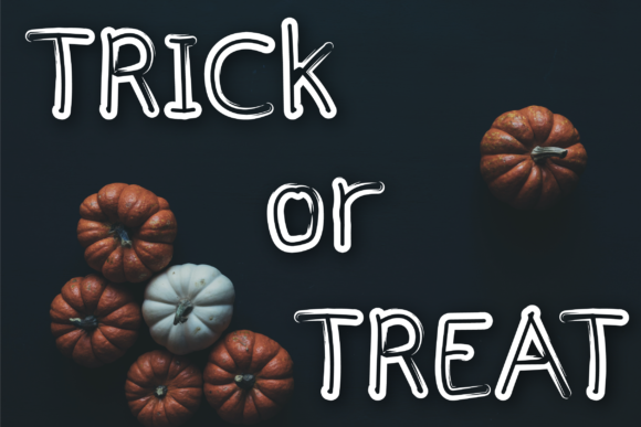Halloween Font Preview