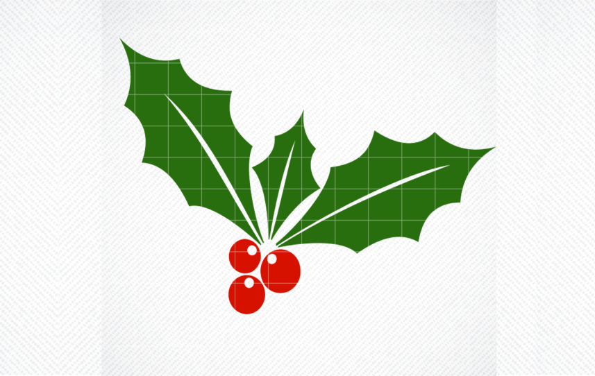 Holly Svg Holly Berry Svg Christmas Graphic By Svg Den Creative Fabrica